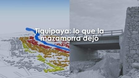 Portada Tiquipaya: lo que la mazamorra dejó